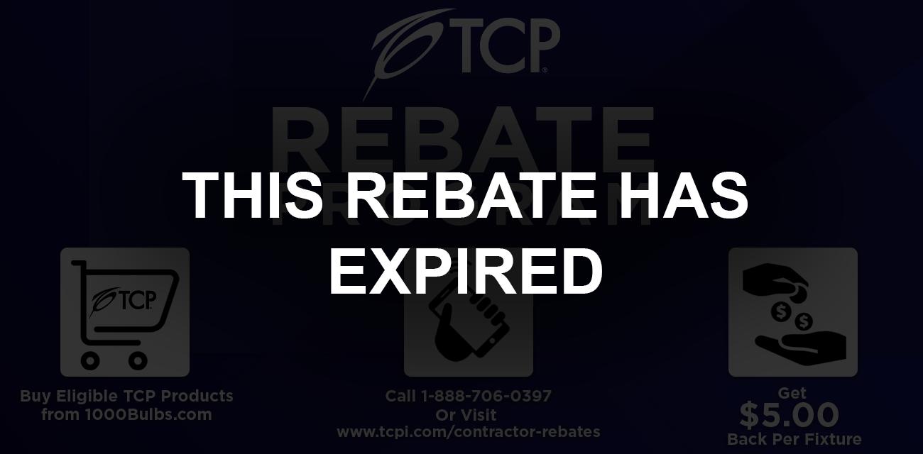 TCP Rebate banner