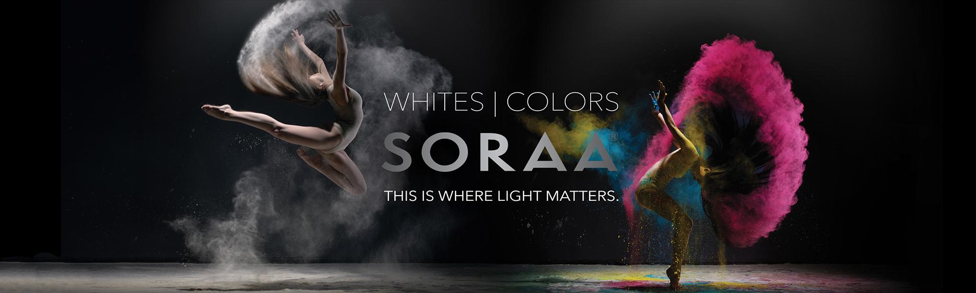 Soraa Branding
